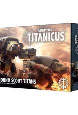 Games-Workshop Adeptus Titanicus Warhound Scout Titans