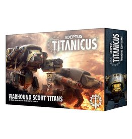Games-Workshop Adeptus Titanicus Warhound Scout Titans