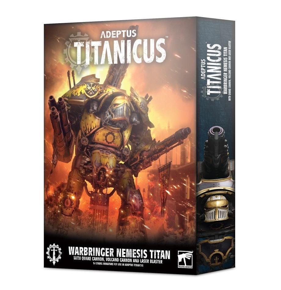 Games-Workshop Warbringer Nemesis Titan With Quake Cannon