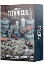 Games-Workshop Adeptus Titanicus : Manufactorum Imperialis