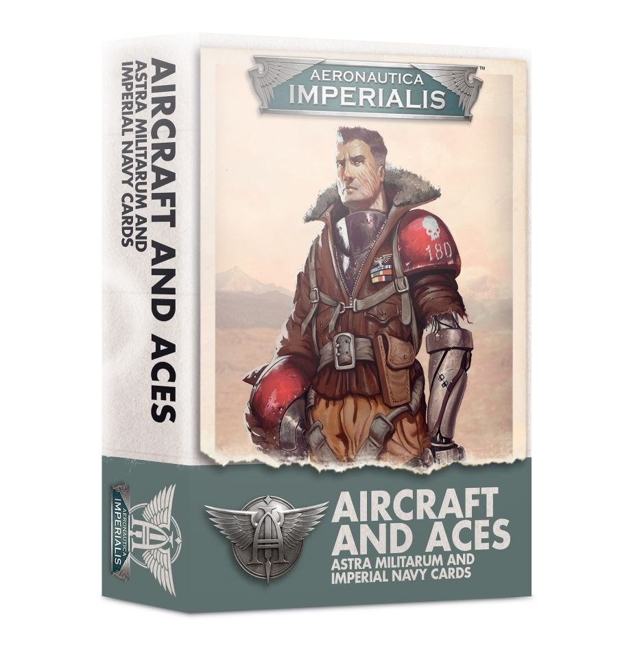 Games-Workshop Aeronautica Imperialis: Aircraft & Aces Imperial Navy Cards