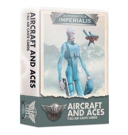 Games-Workshop Aeronautica Imperialis: Aircraft & Aces T'Au Air Caste Cards