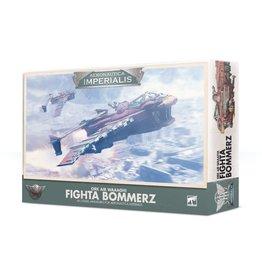 Games-Workshop Aeronautica Imperialis: Ork Air Waaagh! Fighta Bommerz
