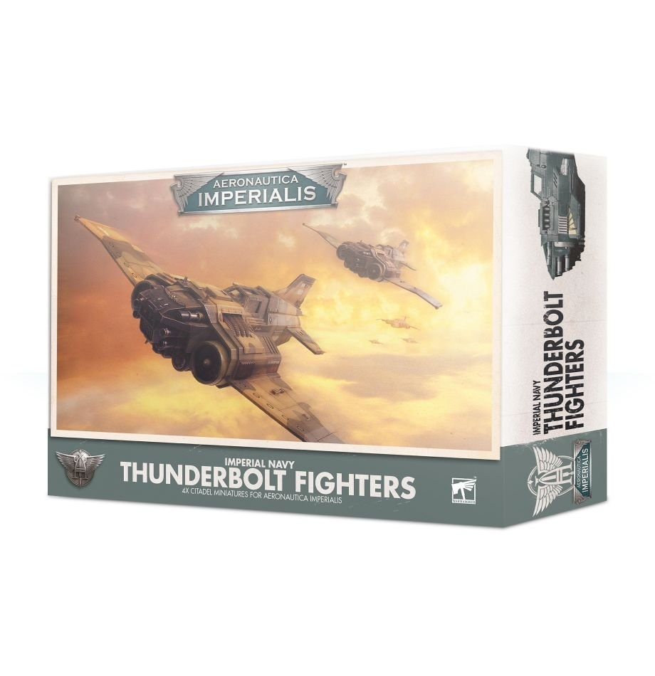 Games-Workshop Aeronautica Imperialis: Imperial Navy Thunderbolt Fighters