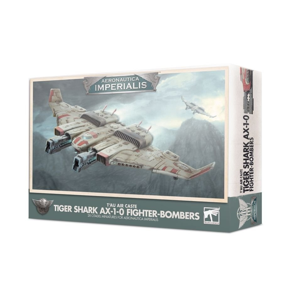 Games-Workshop Aeronautica Imperialis: T'Au Tiger Shark Ax-10 Fighter-Bomb