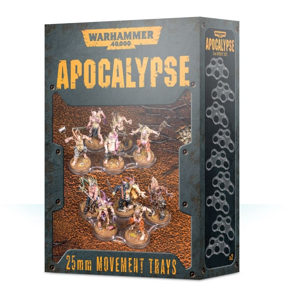 Games-Workshop Wh40K Apocalypse Movement Trays (25Mm)
