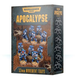 Games-Workshop Wh40K Apocalypse Movement Trays (32Mm)
