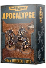 Games-Workshop Wh40K Apocalypse Movement Trays (40Mm)