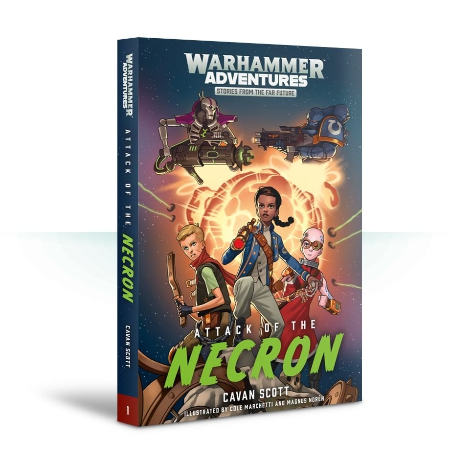 Black Library Warped Galaxies: Attack Of The Necron