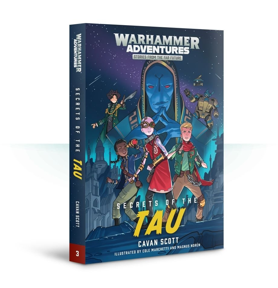 Black Library Warped Galaxies: Secrets Of The Tau