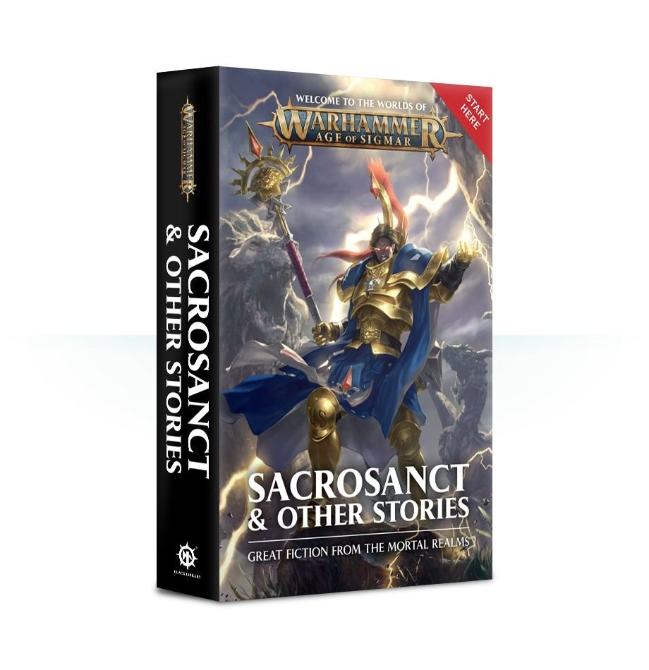 Black Library Aos: Sacrosanct & Other Stories