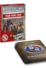 Games-Workshop Blood Bowl: Old World Alliance Team Card Pack