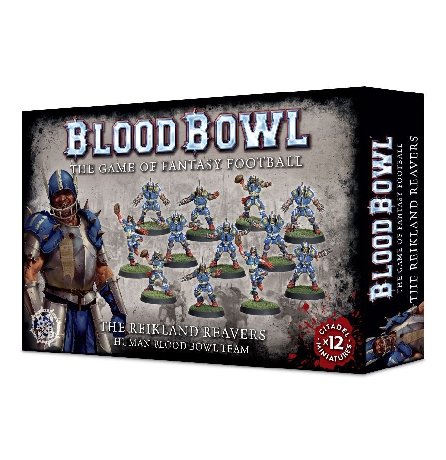 Games-Workshop The Reikland Reavers Blood Bowl Team