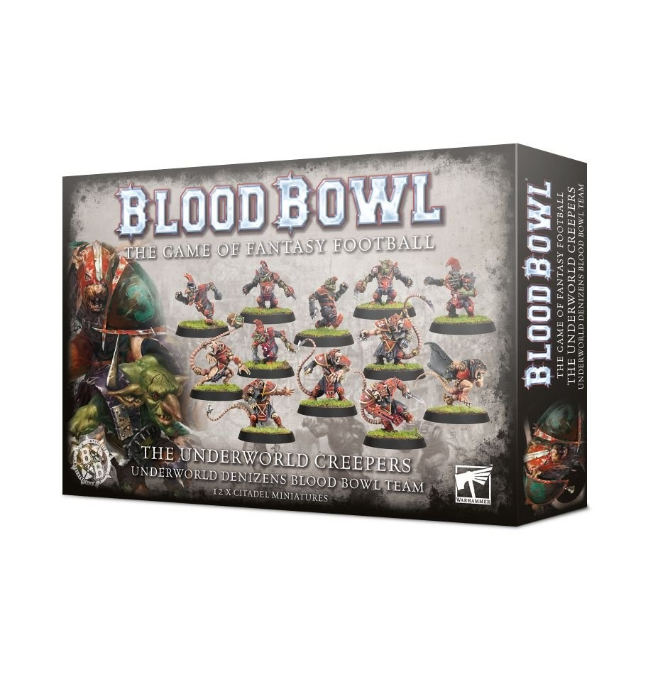 Games-Workshop Blood Bowl: The Underworld Creepers