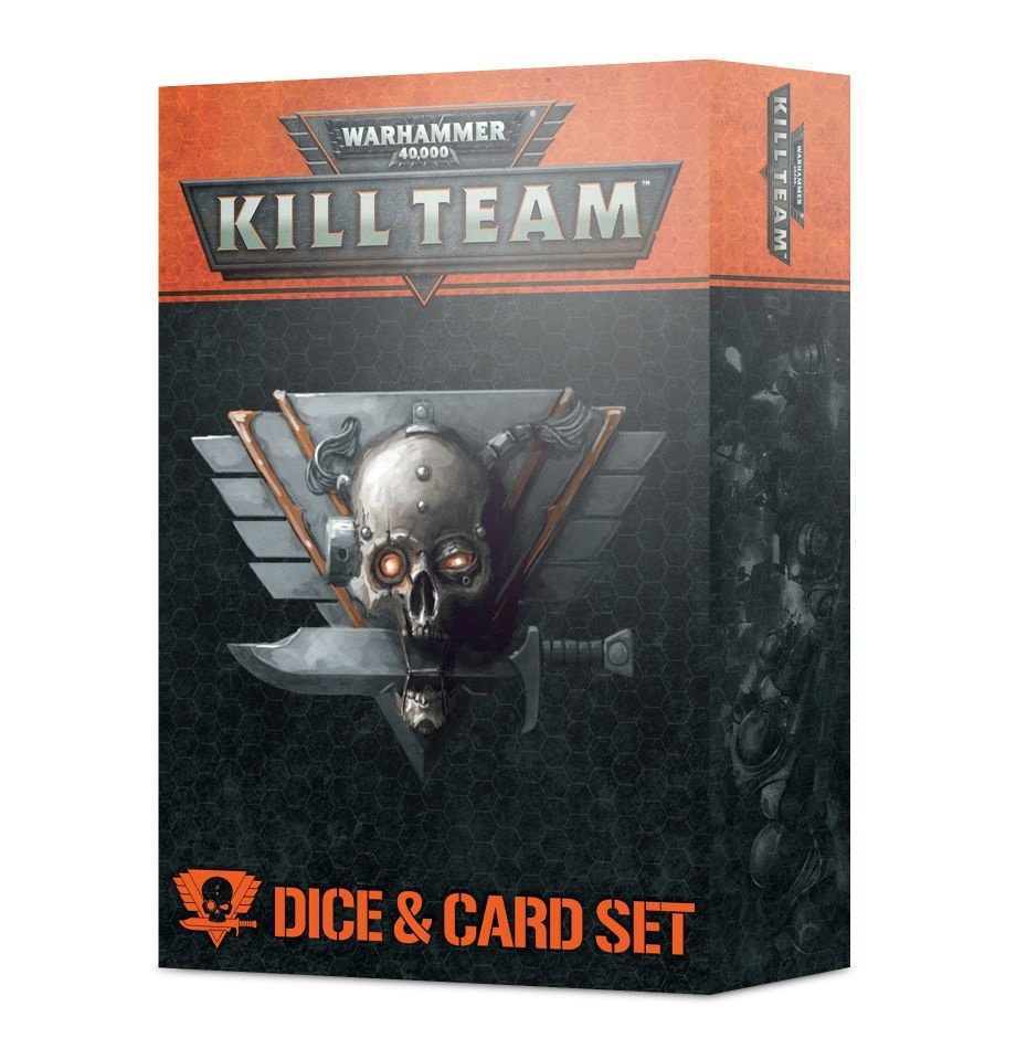 Games-Workshop Kill Team: Dice & Card Set