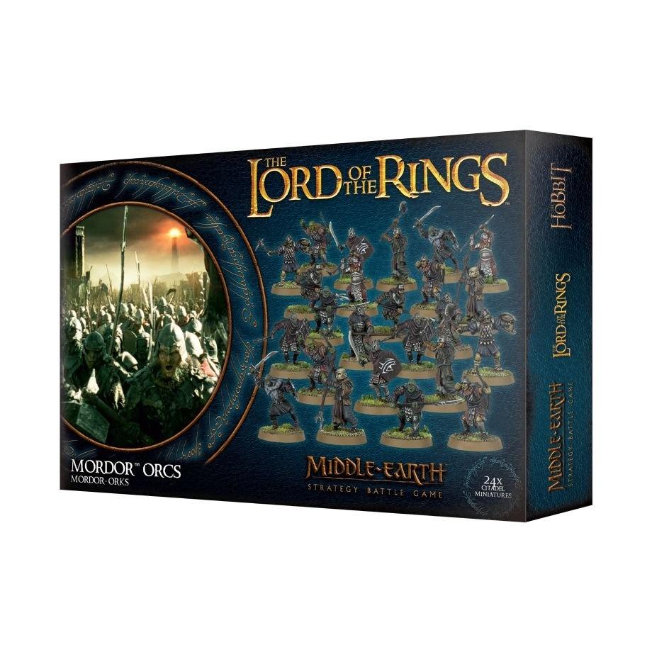 Games-Workshop Lotr: Mordor Orcs