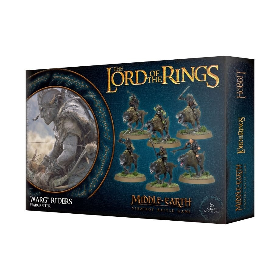 Games-Workshop The Lord Of The Rings: Warg Riders