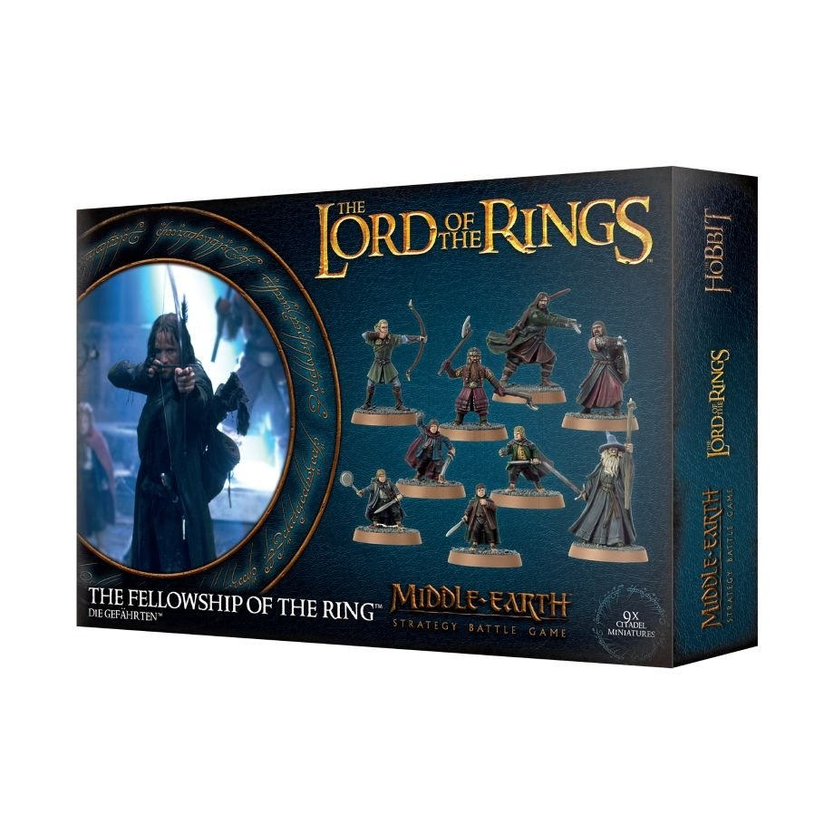 Games-Workshop Middle-Earth Strategy Battle Game: Fellowship Of The Ring