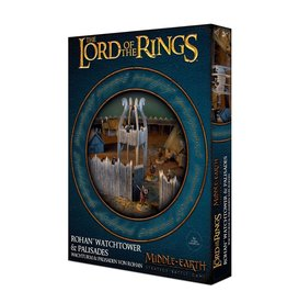 Games-Workshop Middle-Earth Strategy Battle Game: Rohan Watchtower & Palisades