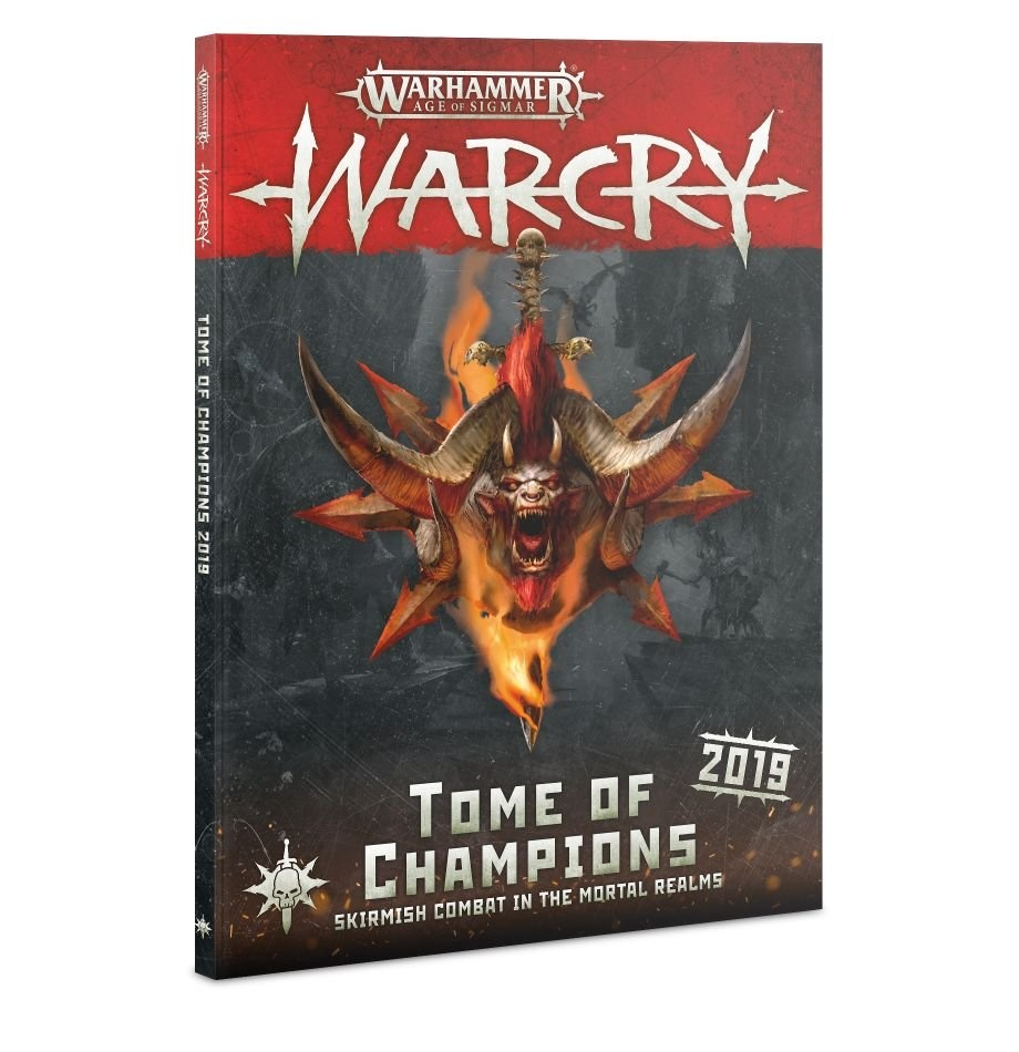 Games-Workshop Warcry: Tome Of Champions 2019 (English)