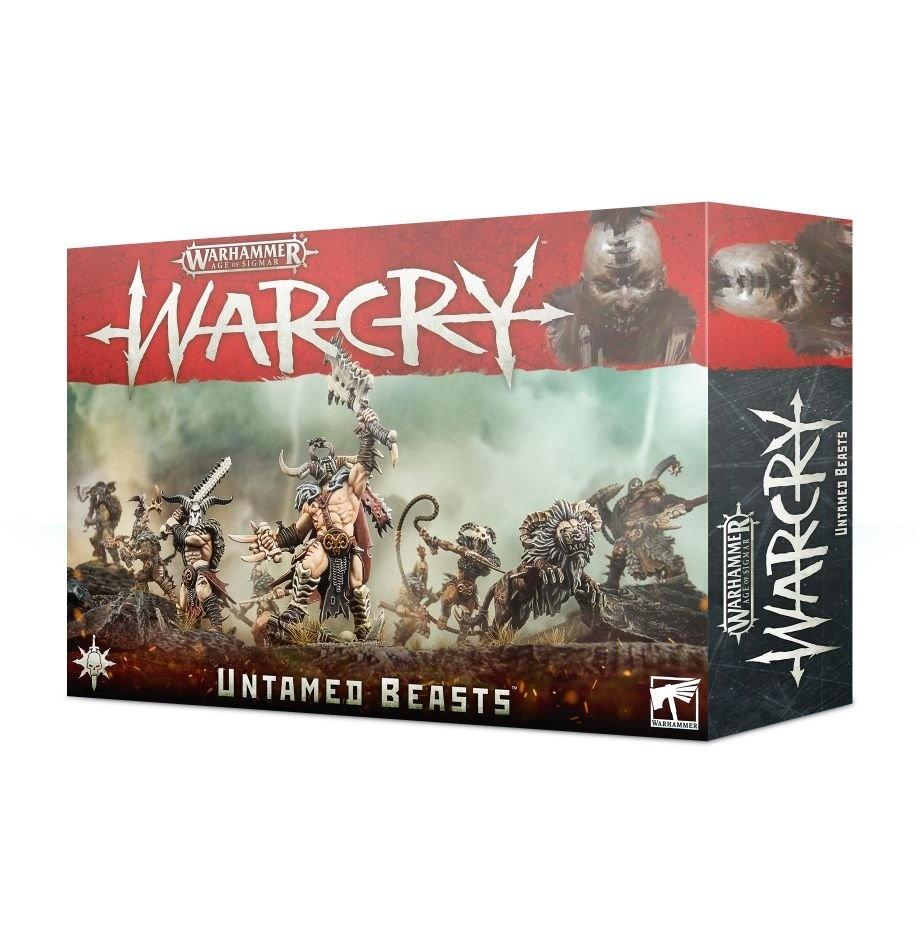 Games-Workshop Warcry: Untamed Beasts