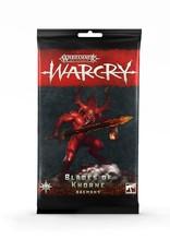 Games-Workshop Warcry: Blades Of Khorne Cards