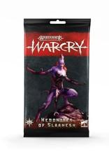 Games-Workshop Warcry: Hedonites Of Slaanesh Cards
