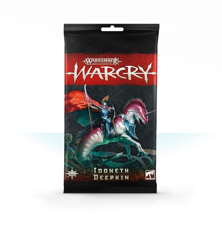 Games-Workshop Warcry: Idoneth Deepkin Card Pack
