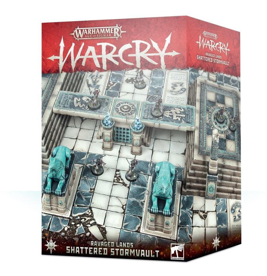 Games-Workshop Warcry: Shatterd Stormvault