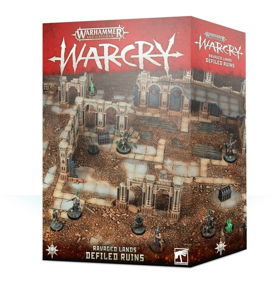 Games-Workshop Warcry: Defiled Ruins