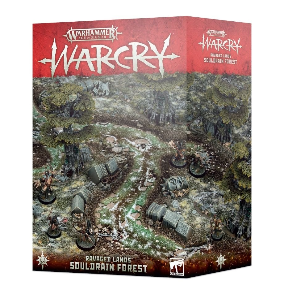 Games-Workshop Warcry: Souldrain Forest