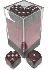 Chessex Chessex Speckled Silver Volcano Set of 12 d6 Dice