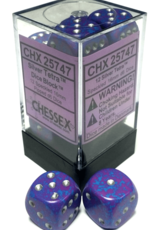 Chessex Chessex Speckled Silver Tetra Set of 12 d6 Dice