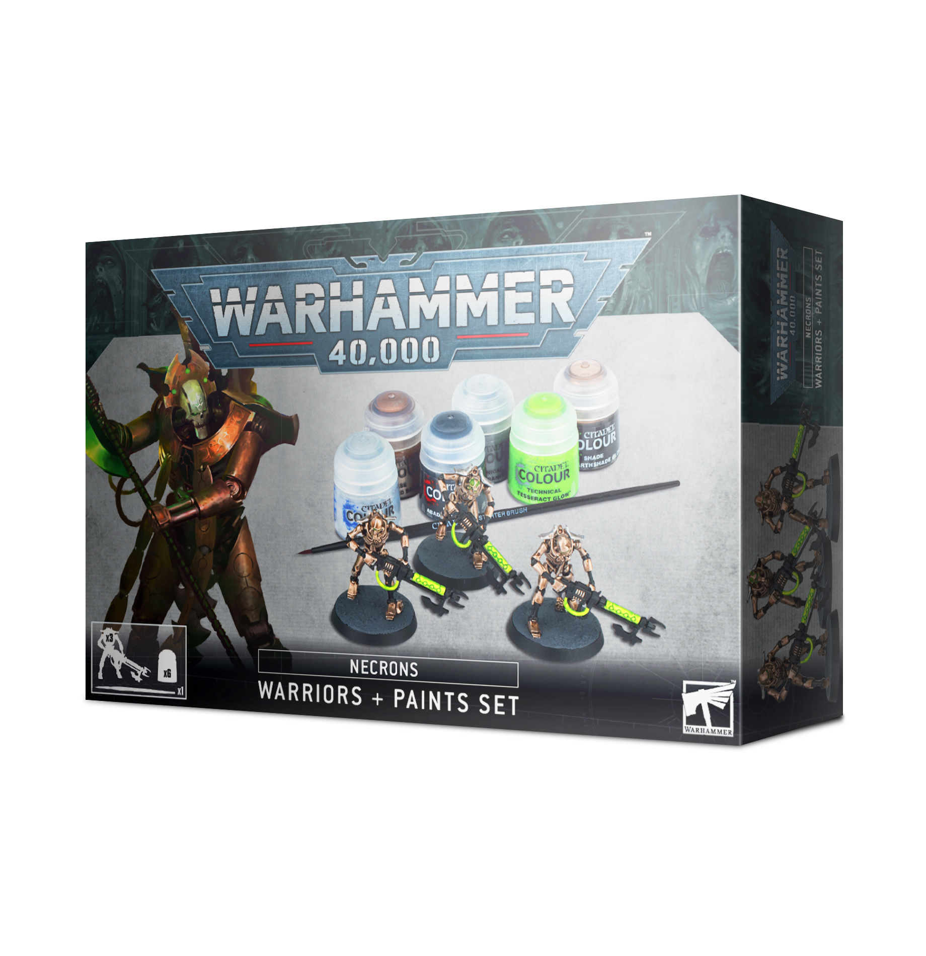 Games-Workshop Necrons Paint Set