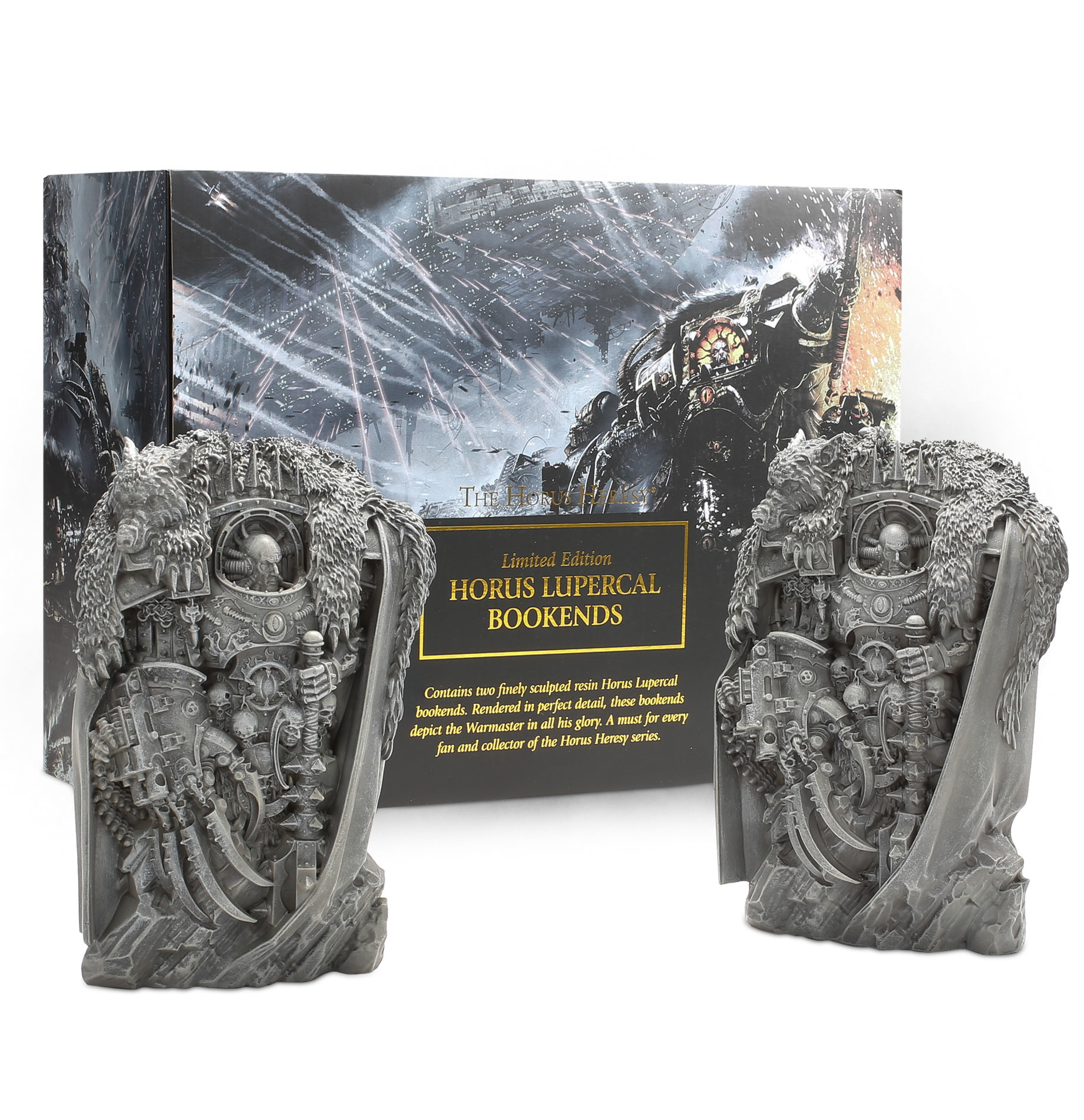 Games-Workshop Black Libary Horus Heresy Book Ends