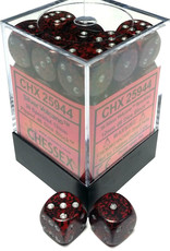 Chessex Chessex Silver Volcano Hi-Tech Set of 36 d6 Dice