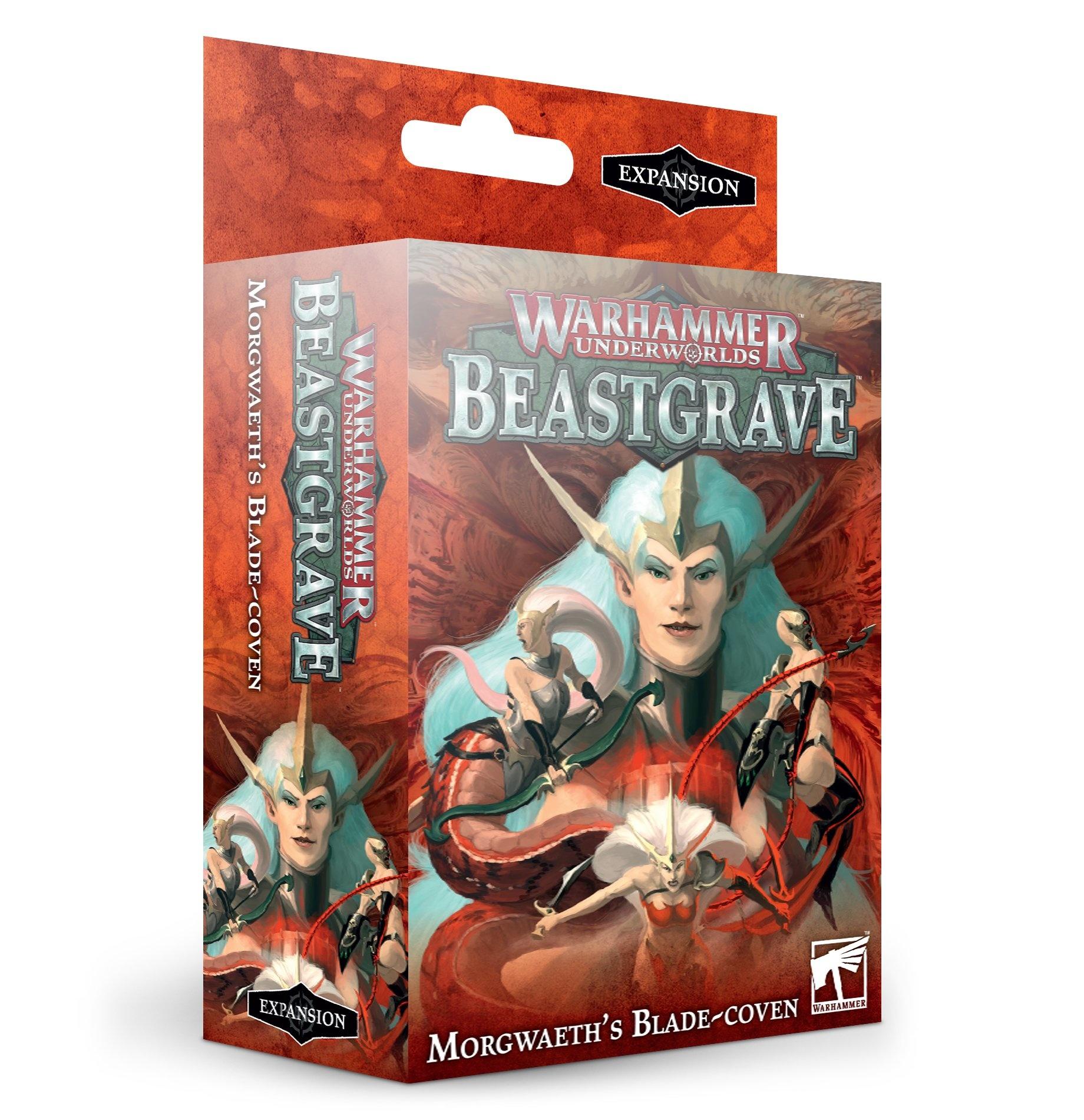 Games-Workshop Warhammer Underworlds: Morgwaeth's Blade-Coven