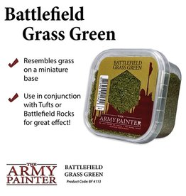 The Army Painter Battlefield: Basing: Grass Green Flock