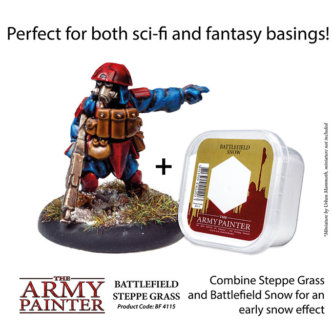 The Army Painter Battlefield: Basing: Steppe Grass