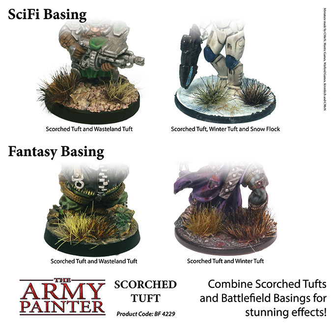 The Army Painter Battlefield: Foliage: Scorched Tuft