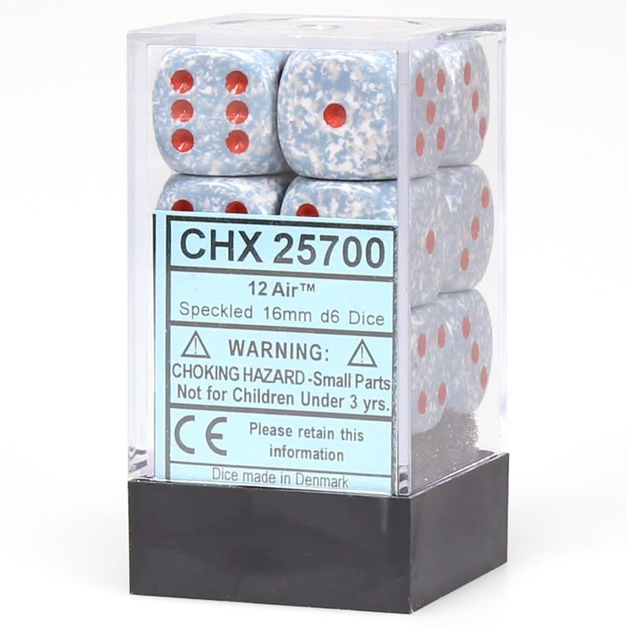 Chessex Chessex Speckled Air Set of 12 D6 Dice
