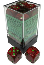 Chessex Chessex Speckled Strawberry Set of 12 D6 Dice