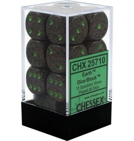 Chessex Chessex Speckled Earth Set of 12 D6 Dice