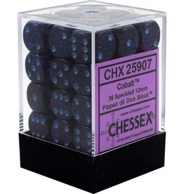 Chessex Chessex Speckled Cobalt Set of 36 D6 Dice