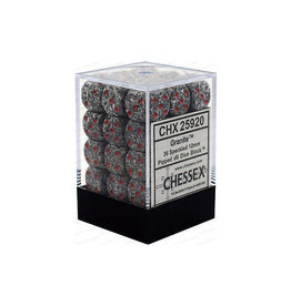 Chessex Chessex Speckled Granite Set of 36 D6 Dice