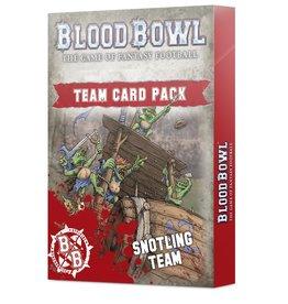 Games-Workshop Snotling Team Cards Pack