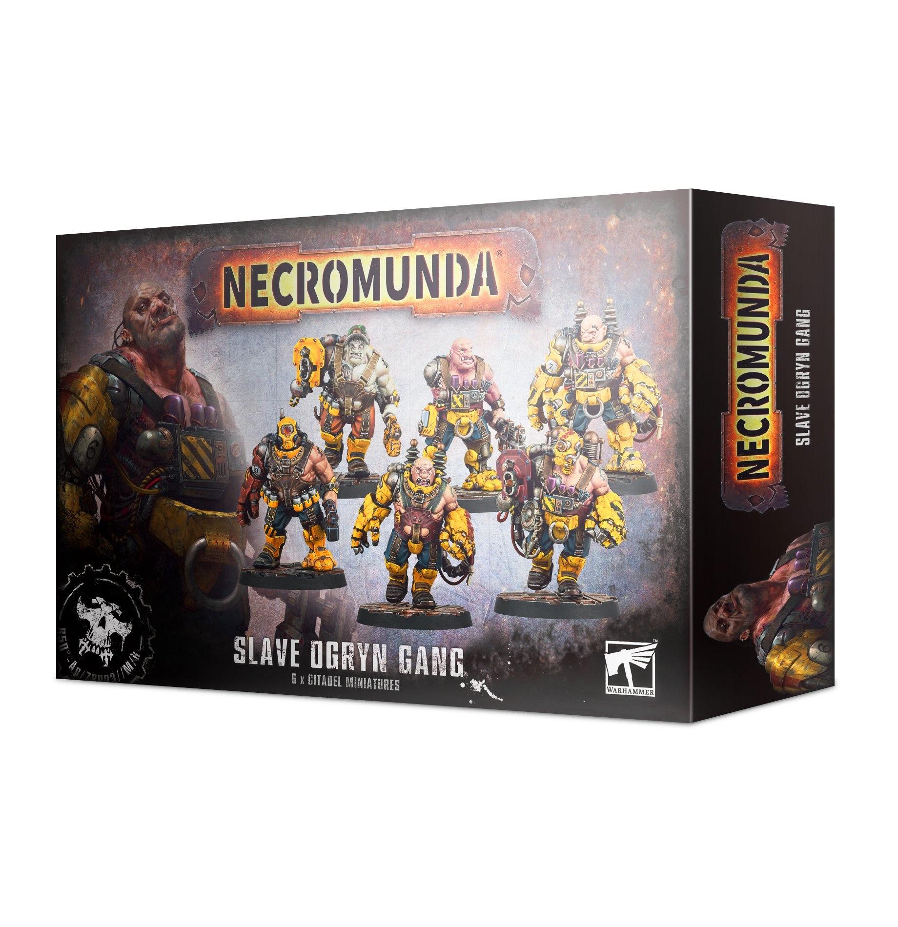 Games-Workshop Necromunda: Slave Ogryn Gang