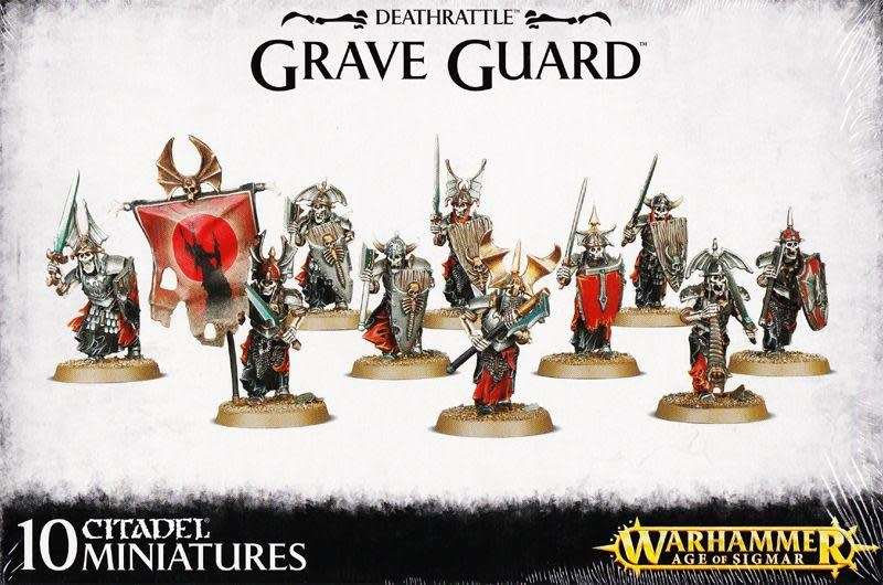 Games-Workshop Deathrattle Grave Guard