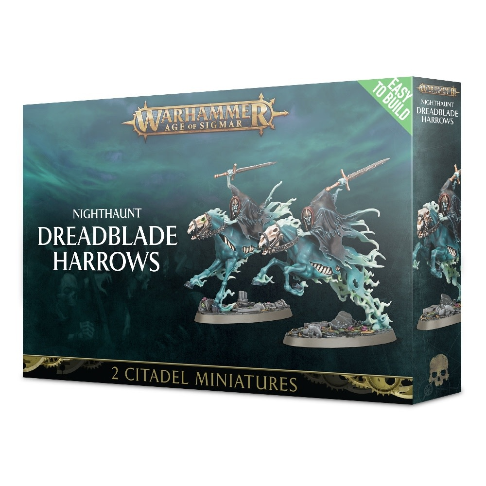 Games-Workshop Easy To Build: Nighthaunt Dreadblade Harrows