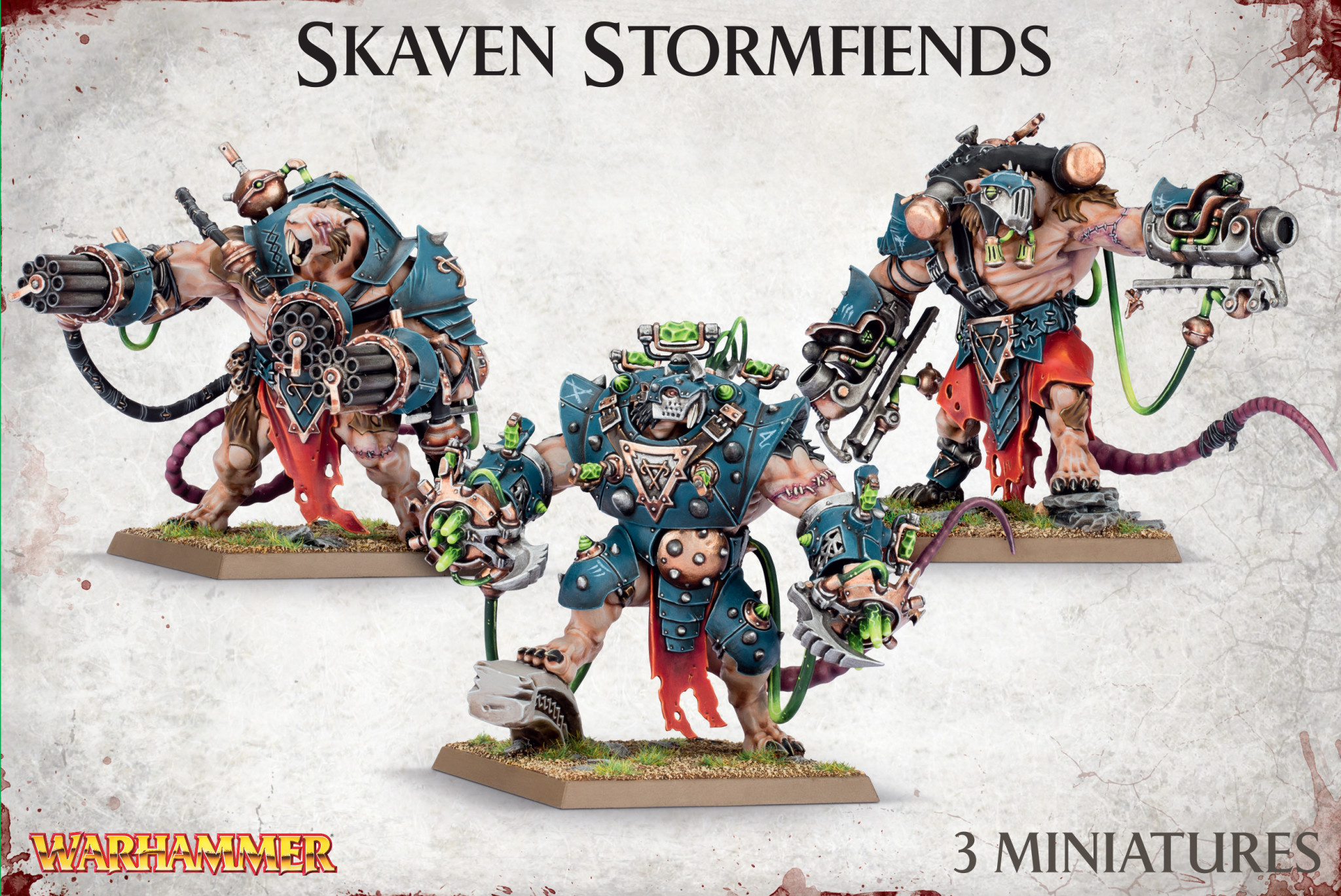 Games-Workshop Skaven Stormfiends